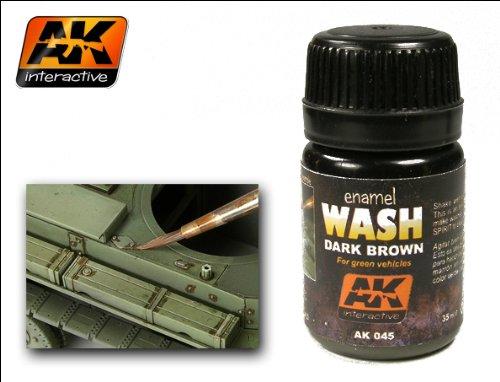AK: Dark Brown Wash