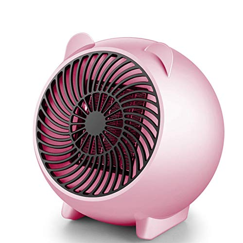 GCP Mini Fan Heater, Electric Fan Heater, Portable Fan Heating, Fan Heater, Table Heater PTC Ceramic Heater, for Home and Office Bedroom Baby Dorm