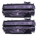 RICR Reemplazo de Cartucho de tóner Compatible CRG119, Ajuste de Alto Rendimiento para Canon I-Sensys LBP251DW MF411DW MF416DW MF418X MF419X Impresora 2PACK