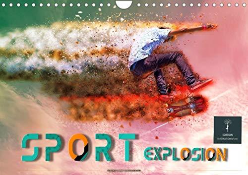 Sport Explosion (Wandkalender 2021 DIN A4 quer)