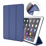 GOOJODOQ iPad Air 1 Hülle, iPad Air 1 PU Leder Etui Hülle Tasche mit Ständer Funktion & Eingebautem Magnet für Einschlaf/Aufwach Shockproof Silikon Weicher TPU Folio Hülle für Apple iPad Air 1