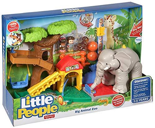 Mattel CHF55 - Fisher-Price Little People Maxi-Tierwelt Zoo