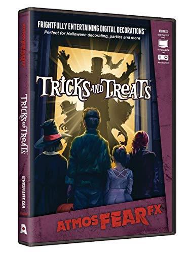 AtmosFX Tricks and Treats Halloween Digital Decorations