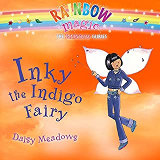 Rainbow Magic: Inky the Indigo Fairy cover art