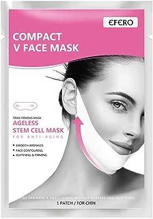 FINEjuyudd 2pcs Women Face-Lift Face Mask Slimming V Shape Facial Sheet Skin Care Mask