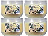 Mainstays 11.5oz Scented Candle, Wild Honeysuckle 4-Pack