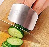 Daddy Chef Stainless steel Finger guard knife cutting protector Hand Kitchen Safe slice tool for Chef - Cooking Avoid Hurting When Slicing and chopping