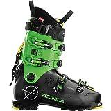 Tecnica Zero G Tour Scout Scarponi da Sci Alpinismo, nero-verde, 28.5
