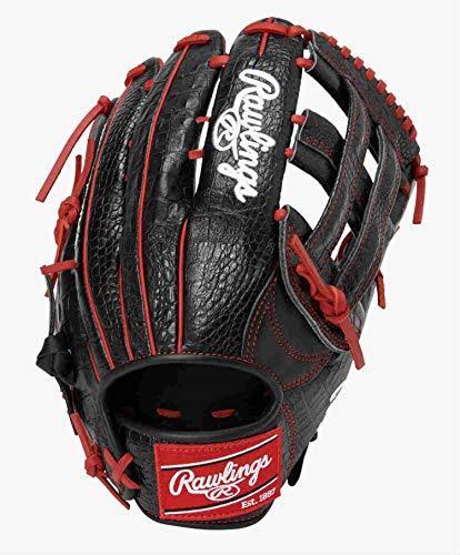 ローリングス(Rawlings) 野球用 大人 軟式 HOHR MAJOR LEAGUER'S MODEL メジャーリーグモデル[外野手用] サイズ 13.0 GRXFMLBH ブラック ※右投げ用