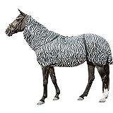 HKM Ekzemer-Decke -Zebra-, weiß/schwarz, 135