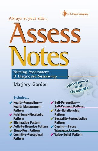 Assess Notes: Nursing Assessment and Diagnostic Reasoning for Clinical Practice Spiral Binding