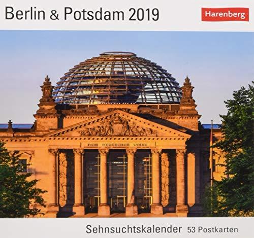 Berlin & Potsdam - Kalender 2019: Sehnsuchtskalender, 53 Postkarten