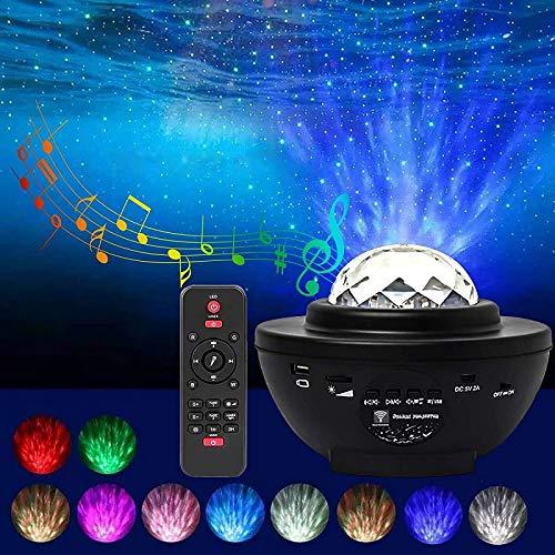 EnShiShiDaNingZiShangMaoYouXianGon USB Music Starry Night Festival Luces