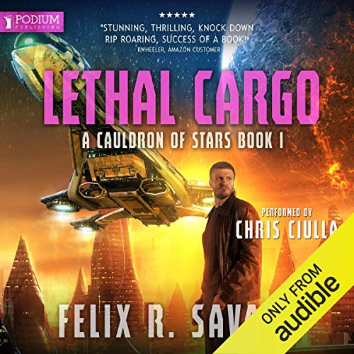 Lethal Cargo audiobook cover art
