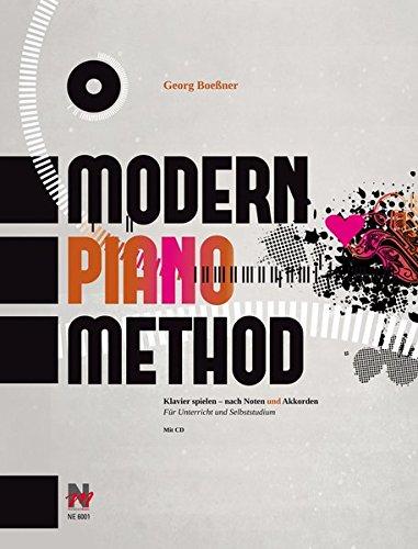 Modern Piano Method: Klavier spielen – nach Noten und Akkorden
