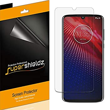 6 Pack  Supershieldz Designed for Motorola Moto Z4 Screen Protector High Definition Clear Shield  PET