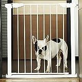 BSQT Haustiere, Laufstall Pet Gate extra groß | Gehen Sie durch das Babytor mit Haustür | Haustier...