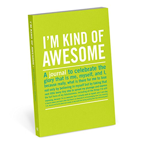Knock Knock Diário I'm Kind Of Awesome Inner-Truth (pequeno, 10 x 14,5 cm)