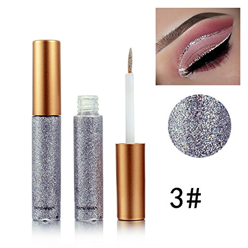 OYGIRL 10 Color Diamond Glitter & Shimmer Style Liquid Eyeliner Eyeshadow Color