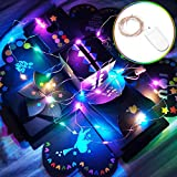 Caja de explosión + cadena de luces LED, caja de regalo sorpresa, caja de fotos para personalizar, álbum de recortes y álbum de fotos para cup/BFF/Navidad/San Valentín/aniversario/cumpleaños/bodas