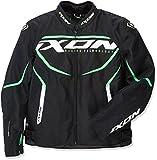 Ixon Chaqueta moto Sprinter Negro/Verde, Negro/Verde, L