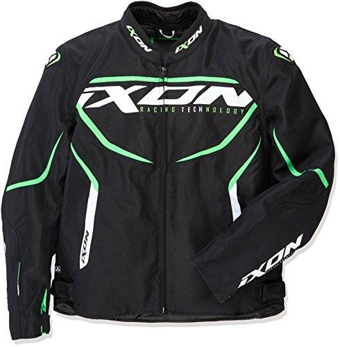 Chaqueta Moto Verde Marca Ixon