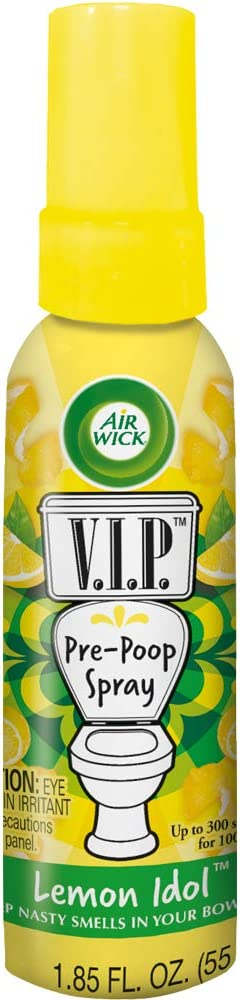 Air Wick V.I.P. Pre-Poop Toilet Sales OFFicial store results No. 1 Spray Up uses to 100 Contains