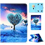 7 inc rca tablet case - Universal 7 inch Tablet Stand Case, Techcircle PU Leather [Card Slots] Magnet Cover, for Samsung Galaxy Tab E/Tab A 7.0, Fire 7 9th/7th/5th Gen, Lenovo/RCA and More 6.5