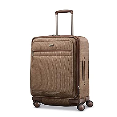 Hartmann Century Domestic Carry On Expandable Spinner Ss Carry-On Luggage, Mocha Monogram