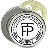[SET] Pure Silver Naturseife   Vegane Seife für empfindliche Haut + Make-up   Premium Gesichtsseife...