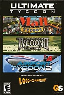 Ultimate Tycoon Game Pack: Mall Tycoon / Railroad Tycoon II Platinum / Airport Tycoon 2 / Loco-Commotion