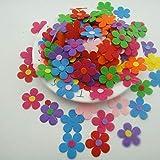 witgift Fiore decorativo in feltro, 200 pezzi, fiori in tessuto, decorazioni floreali, decorazioni in feltro per fai da te