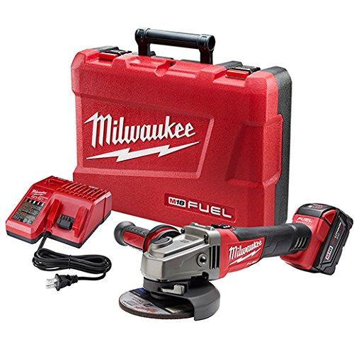 Milwaukee 2781-21 M18 Fuel 4-1/2'/5' Slide, 1 Bat Kit