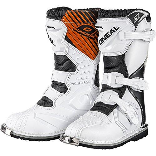 O'neal Rider MX Niños Motocross Supermoto Botas De Moto schwarz 2015 - Blanco, 12/31