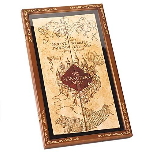 Harry Potter Houten wanddisplay frame - voor de kaart van de roterende driver - Marauders Map