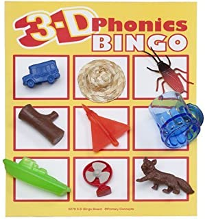 Primary Concepts 3-D Phonics Bingo Learning Kit