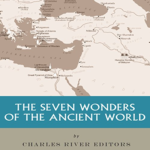 The Seven Wonders of the Ancient World audiobook cover art