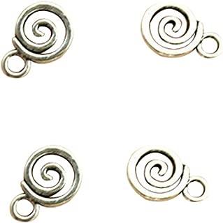 10pcs Vintage Lollipop Charms Metal Pendants for DIY Bracelets and Necklace Jewelry Accessories