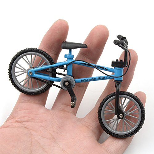 Finger Bike Toy, Mountain Bicycle Toy Miniature Model Toys, Great Collections Gift for Children