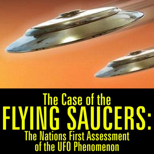 The Case of the Flying Saucers audiobook cover art
