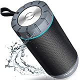 COMISO Waterproof Bluetooth Speakers Outdoor...