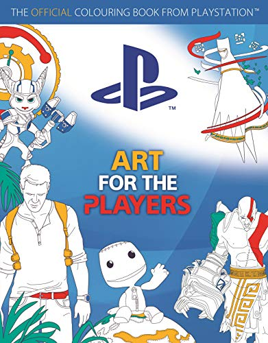 Preisvergleich Produktbild Art for the Players: The official colouring book from PlayStation