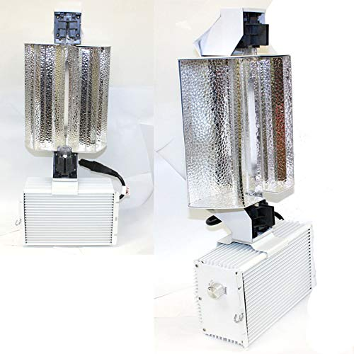 9TRADING Lot Two 1000W Double End Open Phantom Style Reflector MH HPS Grow Light System