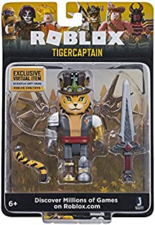 Roblox TigerCaptain 3 Inch Figure with Exclusive Virtual Item Code