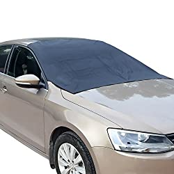 Van Sedan All car Types with Magnets Snow Universal fit SUV SnowShield Magnetic Windshield Cover for Ice Frost Truck