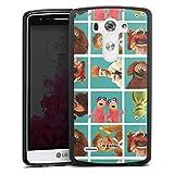 DeinDesign Coque en Silicone Compatible avec LG G3 Étui Silicone Coque Souple Muppets Produit sous...