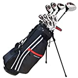 Prosimmon Golf X9 V2 Tall +1' Mens Graphite/Steel Golf Club Set & Bag - Stiff Flex