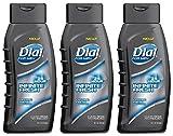 Dial For Men Body Wash - Infinite Fresh - 25 Hour - Net Wt. 16 FL OZ (473 mL) Per Bottle - Pack of 3 Bottles