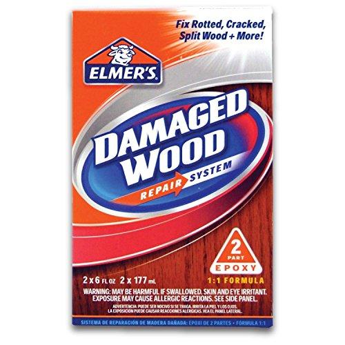 Elmer's E761Q Two 6 Oz Elmer's Damaged Wood Repair System