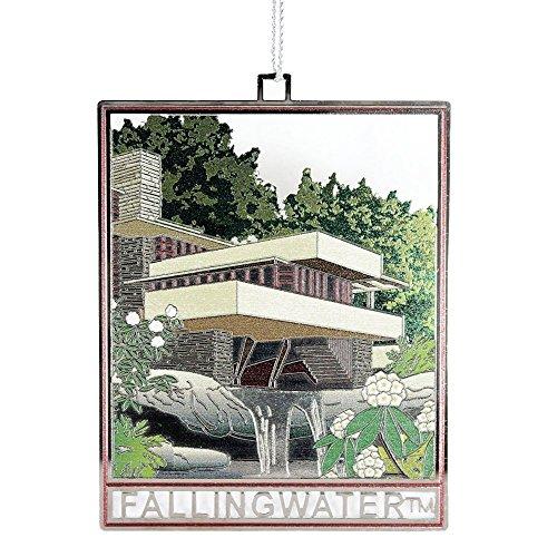 Fallingwater Frank Lloyd Wright Christmas Ornament
